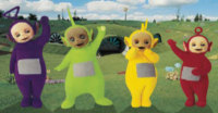 The B) Teletubbies Angie Panting photo album